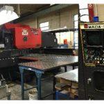 Used Amada Pega 367 33 Ton CNC Turret Punch